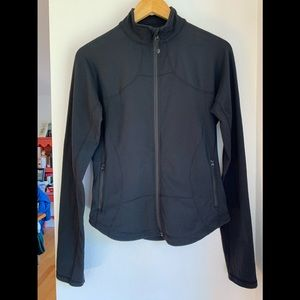 Lululemon fitted full zipper athletic jacket.